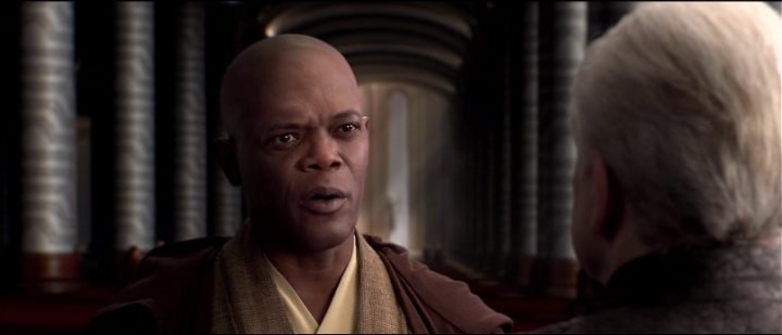 Star Wars Episodio III - La vendetta dei Sith citazioni e dialoghi, di George Lucas, Samuel L. Jackson, Mace Windu, Palpatine