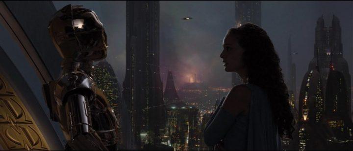 Star Wars Episodio III - La vendetta dei Sith citazioni e dialoghi, di George Lucas con Natalie Portman, Padmé Amidala