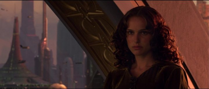 Star Wars Episodio III - La vendetta dei Sith citazioni e dialoghi, di George Lucas con Natalie Portman, Padmé Amidala, città