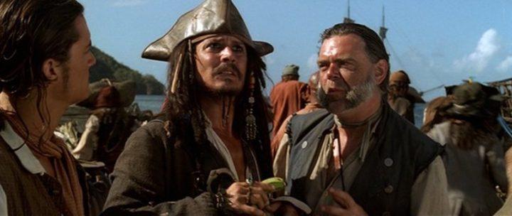 Johnny Depp canta Bob Dylan per George Floyd - La maledizione della prima luna, 2003, Gore Verbinski, Johnny Depp, Orlando Bloom 8