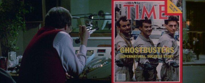 Ghostbusters - Acchiappafantasmi frasi e citazioni, Ivan Reitman, Bill Murray, Dan Aykroyd, Sigourney Weaver, Harold Ramis, Rick Moranis, time