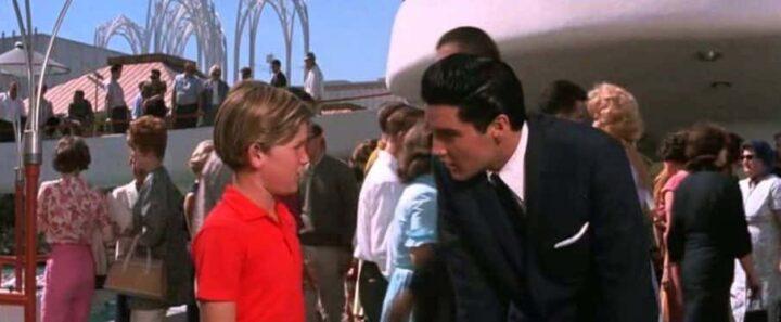 Bionde, rosse, brune, 1963, Norman Taurog, Elvis Presley, Kurt Russell. Una scena di Bionde, rosse, brune, che ha come protagonisti Elvis Presley e Kurt Russell
