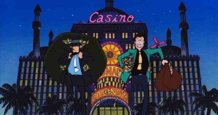 Lupin III - Il castello di Cagliostro, anime, 1979, Hayao Miyazaki, Daisuke Jigen, Casinò
