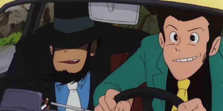 Lupin III - Il castello di Cagliostro, anime, 1979, Hayao Miyazaki, Jigen, Fiat 500
