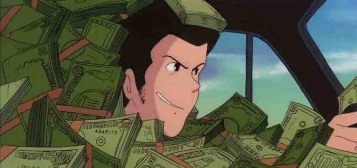 Lupin III - Il castello di Cagliostro, anime, 1979, Hayao Miyazaki, denaro, banconote, soldi