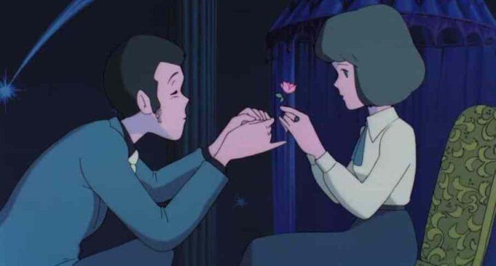 Lupin III - Il castello di Cagliostro, anime, 1979, Hayao Miyazaki, fiore