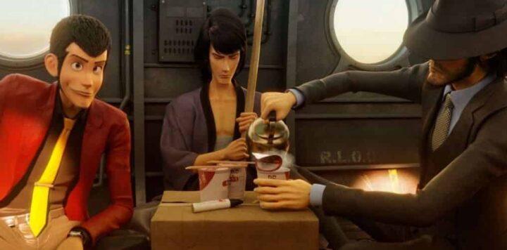 Lupin III - The First, 2019, Takashi Yamazaki, Daisuke Jigen, Goemon Ishikawa XIII, cibo, bollitore