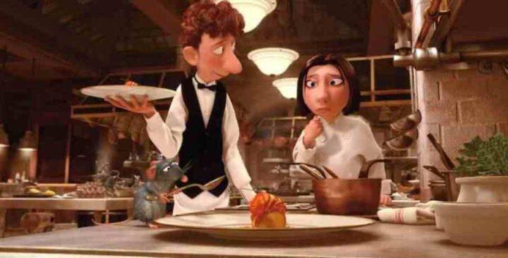 Ratatouille, 2007, Brad Bird, Jan Pinkava, Pixar, Rémy, Alfredo Linguini, Colette Tatou