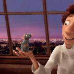 Ratatouille, 2007, Brad Bird, Jan Pinkava, Pixar, Rémy, Alfredo Linguini, Tour Eiffel, Parigi