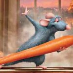 Ratatouille, 2007, Brad Bird, Jan Pinkava, Pixar, Rémy, Alfredo Linguini, carota