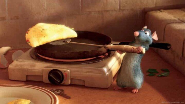 Ratatouille, 2007, Brad Bird, Jan Pinkava, Pixar, Rémy, crêpe