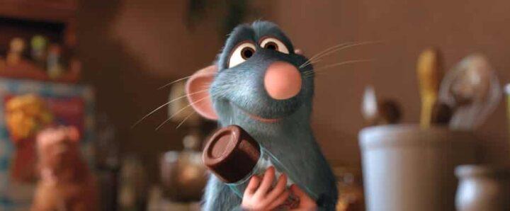 Ratatouille, 2007, Brad Bird, Jan Pinkava, Pixar, Rémy, topolino