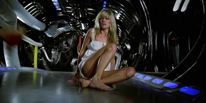 Saturno 3, Farrah Fawcett, sexy, fantascienza
