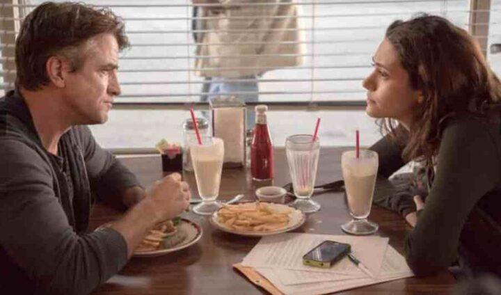 Shameless, Dermot Mulroney, Emmy Rossum, Sean, Fiona, colazione, pancakes. Le migliori frasi di Frank Gallagher in Shameless