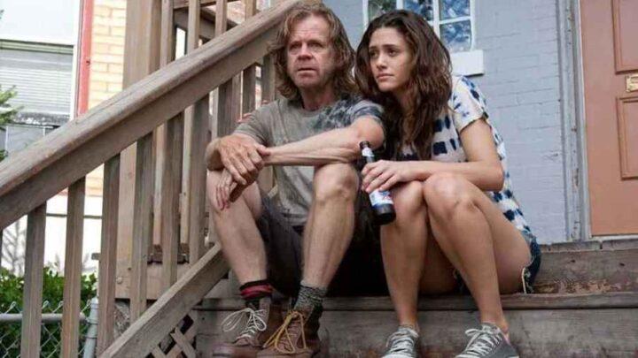 Shameless, Emmy Rossum, William H. Macy, Gallagher, scale, birra. Le migliori frasi di Frank Gallagher in Shameless