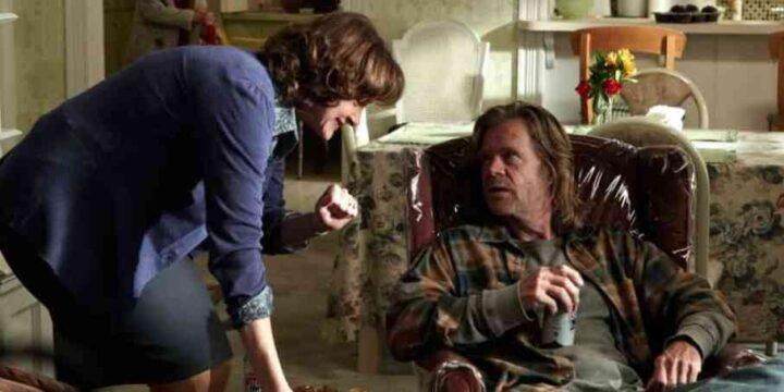 Shameless, William H. Macy, Joan Cusack, Frank, Sheila. Le migliori frasi di Frank Gallagher in Shameless