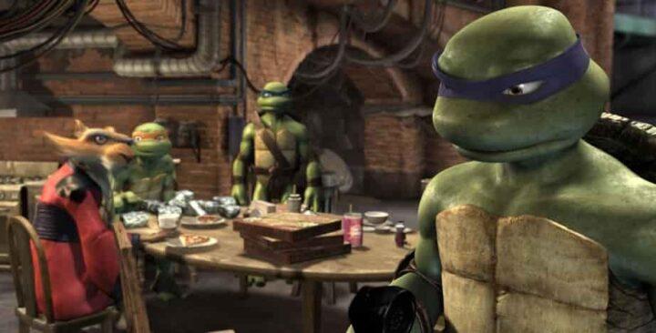 TMNT, Teenage Mutant Ninja Turtles, 2007, Kevin Munroe, Leonardo, Donatello, Michelangelo, Raffaello, Splinter 2