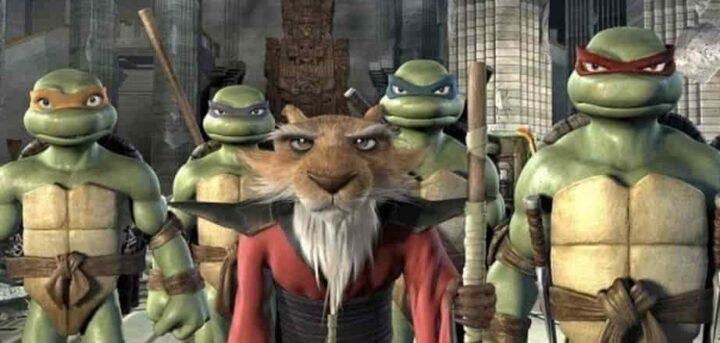 TMNT, Teenage Mutant Ninja Turtles, 2007, Kevin Munroe, Leonardo, Donatello, Michelangelo, Raffaello, Splinter