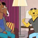 BoJack Horseman, Mr. Peanutbutter, Netflix, divano