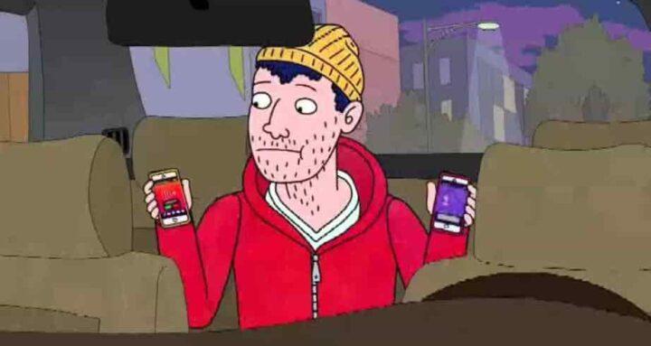 BoJack Horseman, Todd Chavez, Netflix, cellulare