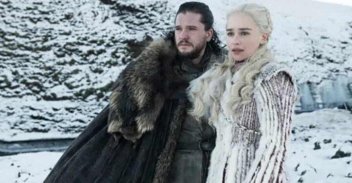 Game of Thrones, Daenerys Targaryen, Emilia Clarke, Jon Snow, Kit Harington, neve