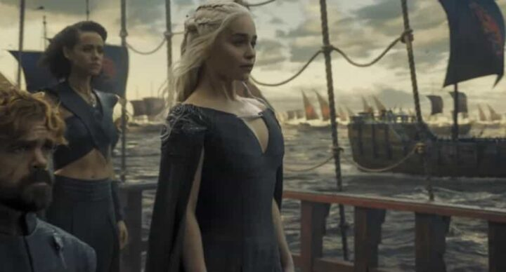 Game of Thrones, Daenerys Targaryen, Emilia Clarke, Peter Dinklage, flotta, navi - Game of Thrones citazioni e dialoghi (Il Trono di Spade)
