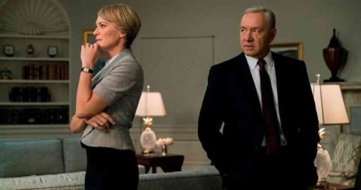 House of Cards - Gli intrighi del potere, Kevin Spacey, Frank Underwood, Robin Wright, Claire Underwood