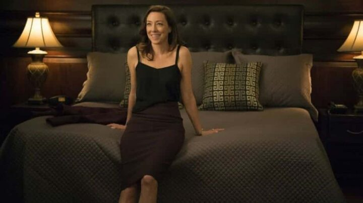 House of Cards - Gli intrighi del potere, Molly Parker, Jackie Sharp, letto
