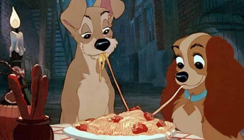 Ricetta degli Spaghetti with meatballs di Lilli e il vagabondo