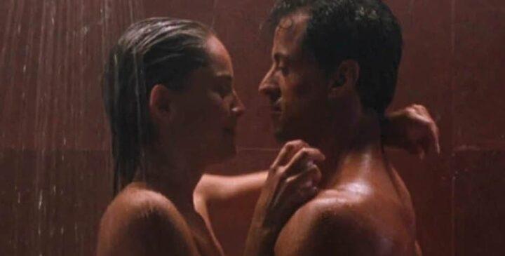 Sharon Stone non voleva spogliarsi nello Specialista - Lo specialista, 1994, Luis Llosa, Sylvester Stallone, Sharon Stone, scena doccia