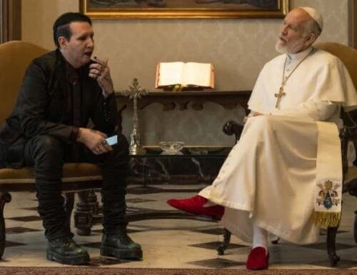 Marilyn Manson adora The Young Pope