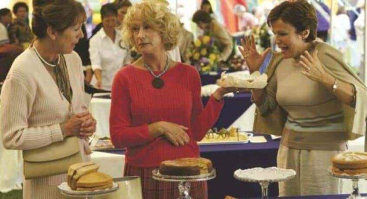 Calendar Girls, 2003, Nigel Cole, Calendar Girls, 2003, Penelope Wilton, Helen Mirren, Julie Walter, cibo