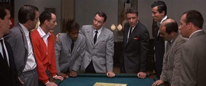 Colpo grosso, 1960, Frank Sinatra, Sammy Davis Jr., Richard Benedict, Joey Bishop, Peter Lawford