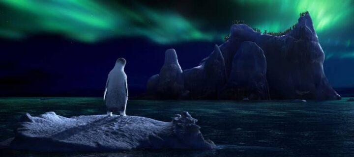 Happy Feet, 2006, George Miller, aurora australe, pinguini
