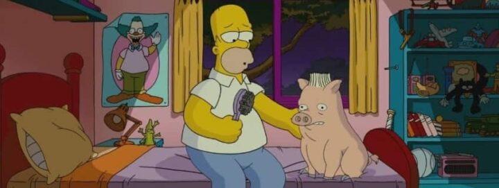 I Simpson - Il film, 2007 diretto da David Silverman, Matt Groening, Homer Simpson, Spider Pork, capelli - I Simpson - Il film frasi, citazioni e dialoghi