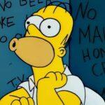 I Simpson sesta stagione, episodio 6, La paura fa novanta V, Homer, Shining