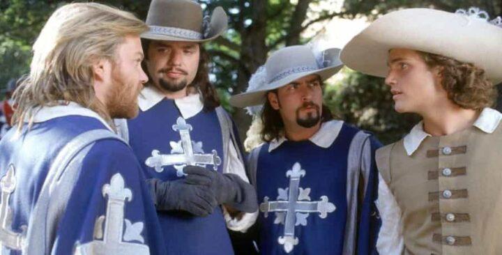 I tre moschettieri, 1993, Stephen Herek, Charlie Sheen, Kiefer Sutherland, Oliver Platt, Chris O'Donnell