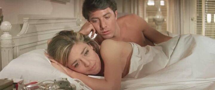 Il laureato, 1967, Mike Nichols, Dustin Hoffman, Anne Bancroft, letto