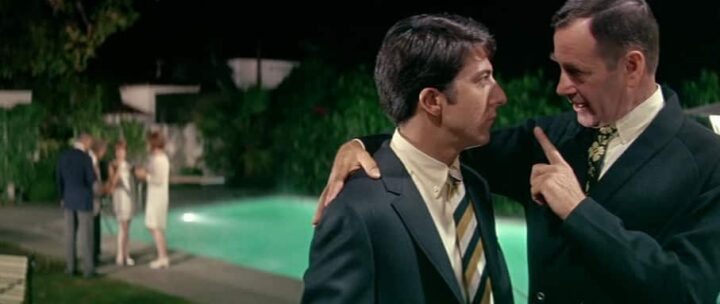 Il laureato, 1967, Mike Nichols, Dustin Hoffman, Benjamin Braddock, piscina