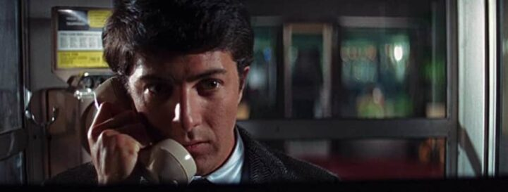 Il laureato, 1967, Mike Nichols, Dustin Hoffman, Benjamin Braddock, telefono