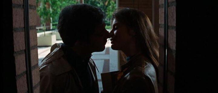 Il laureato, 1967, Mike Nichols, Dustin Hoffman, Katharine Ross, bacio