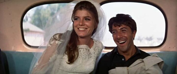 Il laureato, 1967, Mike Nichols, Dustin Hoffman, Katharine Ross, bus