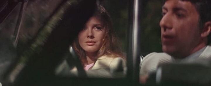 Il laureato, 1967, Mike Nichols, Dustin Hoffman, Katharine Ross, macchina