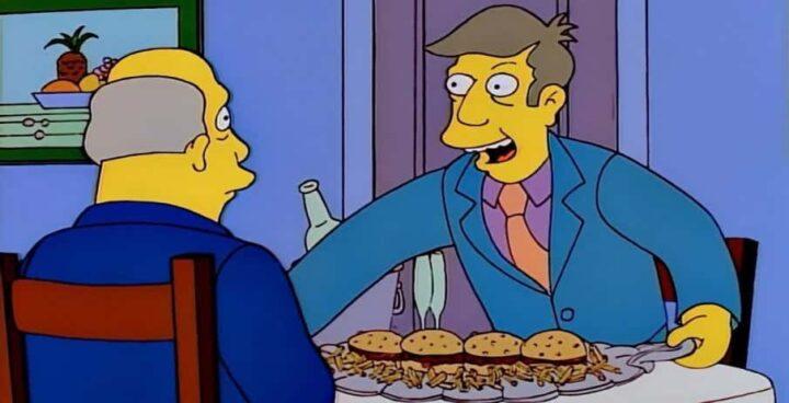 I Simpson settima stagione frasi e citazioni, episodio 21, 22 cortometraggi di Springfield, vitellone al vapore