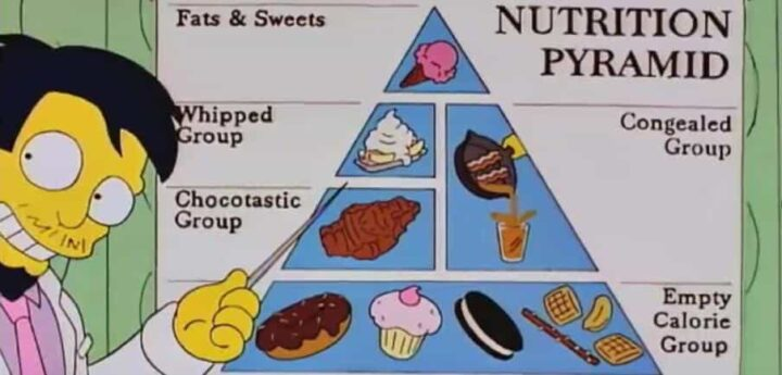 I Simpson settima stagione frasi e citazioni, episodio 7, Maxi Homer, Nick Riviera, cibo