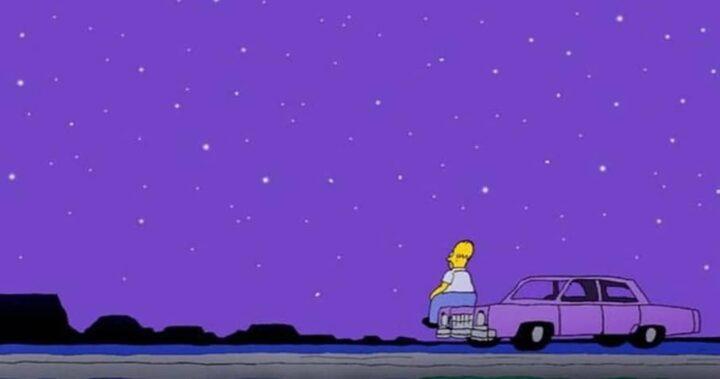 I Simpson settima stagione frasi e citazioni, episodio 8, Mamma Simpson, Homer, cielo, stelle
