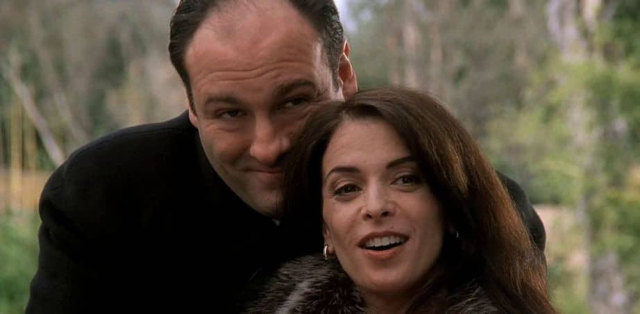 James Gandolfini poteva recitare in The Office - I Soprano, 1999 - 2007, James Gandolfini, Tony Soprano, Annabella Sciorra, Gloria Trillo