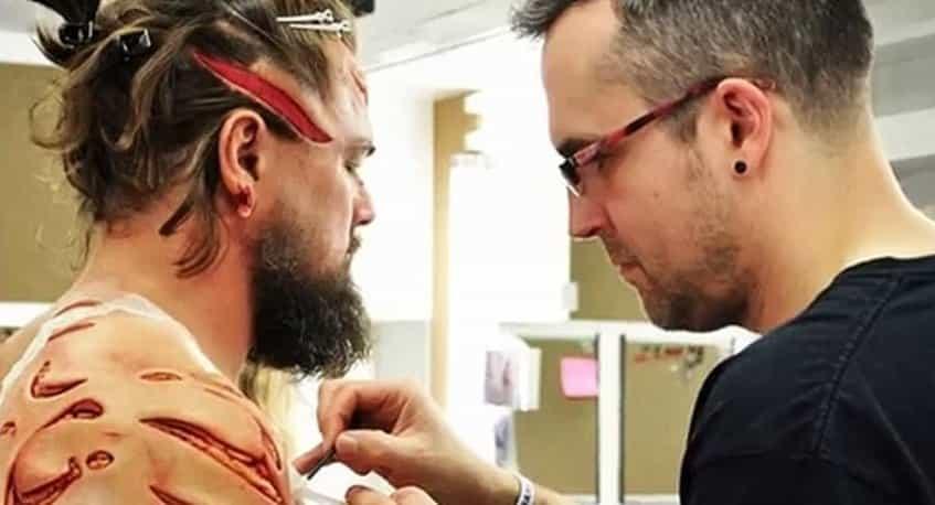 Revenant, Leonardo DiCaprio, Hugh Glass, make up, trucco, Duncan Jarman