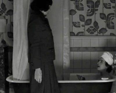 Scena in bagno con Timothee Chalamet e Frances McDormand