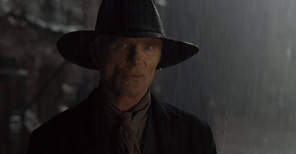 Westworld - Dove tutto è concesso, Ed Harris, Uomo in Nero, pioggia